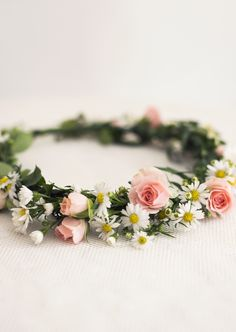 Midsommarkrans / Midsummer Flower Wreath