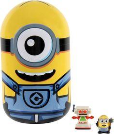 Moose Toys - Mineez Despicable Me Collector Tin - Yellow, 58215
