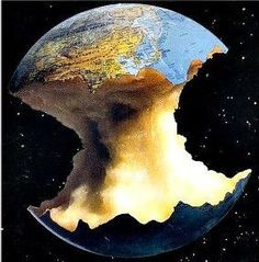 Piece by piece, planet earth is being ravaged by those who were assigned its caretakers.