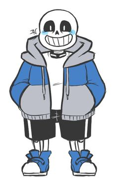 Image result for how to draw sans
