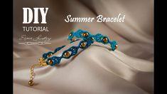 Letnia, łatwa, elegancka bransoletka. Easy, elegant, summer bracelet tut...