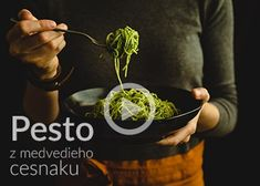 Pesto z medvedieho cesnaku Pesto, Nutella, Quiche, Cheesecake, Food And Drink, Health Fitness, Ethnic Recipes, Geek, Foods