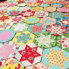 """""""I started this quilt in March. I finally laid out all my blocks to figure out how many blocks I need to make a twin size quilt. 66 blocks down and 33 blocks to go!"""" Photo taken by @three_owls on Instagram, pinned via the InstaPin iOS App! http://www.instapinapp.com (08/23/2015)"""