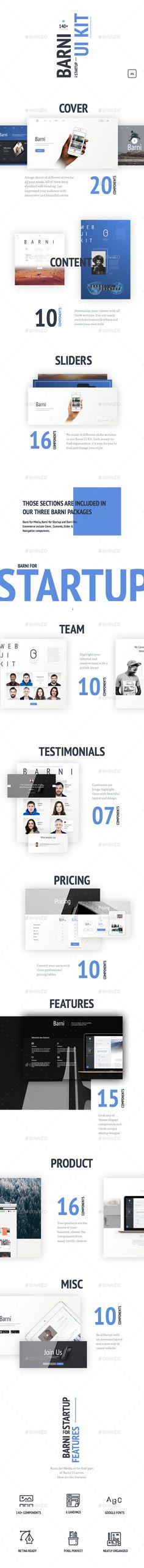 Barni for Startup UI Kit (User Interfaces)