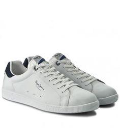 Adidasi Albi Barbati Pepe Jeans Piele   Cea mai buna oferta Pepe Jeans, Mai, Converse, Adidas, Sneakers, Shoes, Fashion, Trainers, Moda