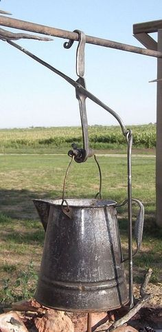 Muller Lane Farm ~ Hand Forged Items trammel hook to use with my kitchen fireplace crane...