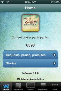Revival and Reformation - Apps