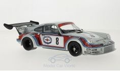 Modelcar - <strong>Porsche</strong> 911 Carrera RSR, No.8, Martini Racing, Martini, 750km Nuerburgring, doors and hoods closed, H.Müller/G.van Lennep, 1974<br /><br />Norev, 1:18<br />No. 215767