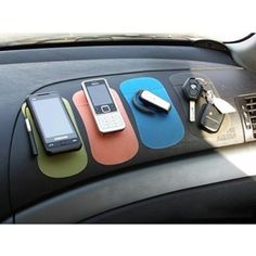 Car Gadgets Practical Anti-slip Magic Sticky Mat at Car for Phone/PDA/MP3/MP4/Digital Devices-Red ** Check out this great product. (This is an affiliate link) #CellPhoneCarAccessories