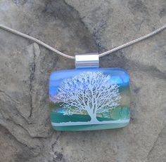 Hey, I found this really awesome Etsy listing at https://www.etsy.com/listing/210820352/tree-necklace-fused-dichroic-glass-tree