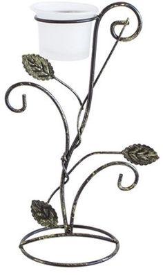 votive metal leaf candle holder - bronze Case of 48 Design Candle Holders, Handmade Candle Holders, Rustic Candle Holders, Votive Candle Holders, Tealight Candle Holders, Votive Candles, Tea Light Candles, Tea Lights, Bronze