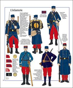 earlier French army 1914