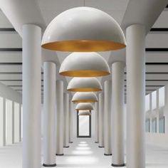 Cup - tweekleurige hanglamp van #Kunstlicht