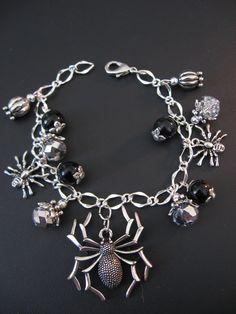 Spider Jewelry Spider Bracelet Arachnid Jewelry by jewelryrow, $23.95