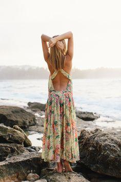 Jessica Stein In Floral Dress From Zimmermann