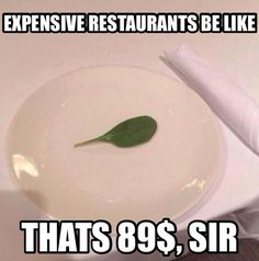 Fancy dinner...