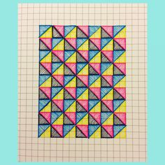 CMYK. #geometricart #illustration
