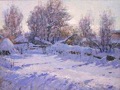 """Vyacheslav Nevsky (127 - ) """"March Evening"""""""