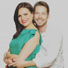 Just gonna pretend this is the photo announcing their engagement in The Daily Mirror. #OutlawQueen  (Credit to @hsuparis on Instagram.)