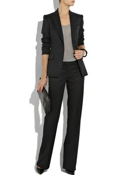 What every woman needs... a fitted black suit