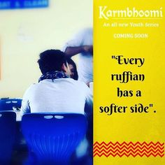 Every ruffian has a softer side.  Meet him in 10 Hours !!  #WhoIsHe #BoyInSilhouette # RevealAt9am #TrueLeader #Leadership #Lead #Karmbhoomi #KBU #YouthSeries #NewTvSeries #YouthLeaders #TVShow # 2016Shows #ComingSoon #YouthTvShow #CollegeLife #Friendship #DramaSeries #IssueBasedSeries #KBULeaders #Cricketer #Sporty #Rebel #Ruffian #Outspoken #Aggressive #Loud #Powerful #Political #Charged