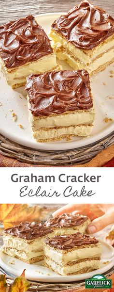 The perfect no bake dessert made with ingredients right from your pantry. Fancy enough for any gathering but easy enough for a weeknight, this cake is sure to become a family favorite.