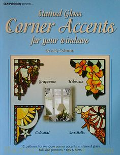 Stained Glass Supplies - books - Corner Accents