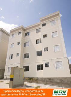 Paisagismo do Sadergna. Condomínio fechado de apartamentos localizado em Sorocaba / SP.