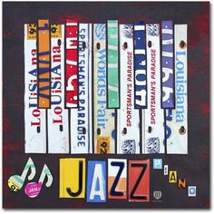 Trademark Fine Art 'Jazz Series Piano' Canvas Art by Design Turnpike, Size: 14 x 14, Multicolor