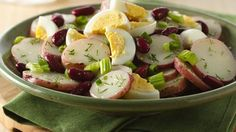 Looking for a simple side to serve a crowd? Check out this warm potato salad, including Progresso® kidney beans, ready to serve in 35 minutes.