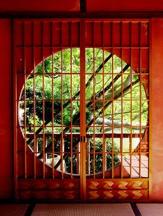 Would be wonderful view to awaken to  -   Tea room, Chofu gardens, Yamaguchi Pref.