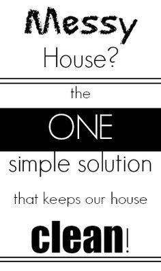 Gone are the days of clutter sitting all over our house with this one tip. Wish I would have thought of this years ago :)