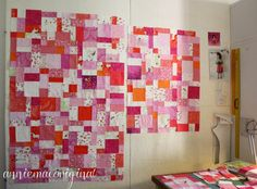"""You know, some of my most favourite quilts are ones that I just start on the spur of the moment, when I """"should"""" be working on other things...."""
