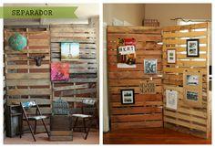 Palets en la pared - ECOdECO Mobiliario