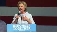 Hillary Clinton: Half of Donald Trump supporters are in 'basket of deplorables'…