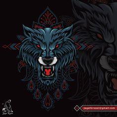 Illustrations Wolf Illustration, Werewolf, Predator, Mammals, Beast, Lion Sculpture, Wildlife, Illustrations, Statue
