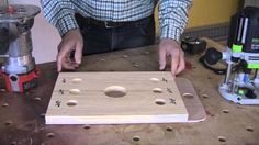 327 best router table and jigs images on pinterest router table rob johnstone demonstrates how to use a simple jig to quickly set up your router for more accurate cutting depths greentooth Gallery