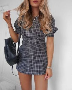 Ahh still obsessed with this mini dress I just need a bit more Spring to get my pins ahhht 🙏🙈 can't cope with wearing bed socks during… Hipster Outfits, Hipster Fashion, Cute Fashion, Hipster Style, Hipster Clothing, Skater Fashion, Women's Fashion, Pink Fashion, Fashion Addict