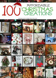 100 Affordable Christmas Creations