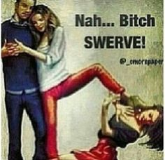 "Hahahaha im cracking up to these ""Bitches B like..."" pics"