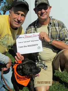 "From SociaBull, CA  I am a proud dad  I am a ""pit bull"" dog owner  I am the majority"