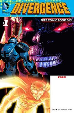 """FCBD 2015 - DC Comics: Divergence (2015) #1 by Geoff Johns http://www.amazon.com/dp/B00W225WEI/ref=cm_sw_r_pi_dp_.362vb03VF2EC - A first look at upcoming storylines! DC Comics: Divergence features three 8-page previews for the June releases of Scott Snyder and Greg Capullo's Batman, as well as Geoff Johns and Jason Fabok's launch of the """"Darkseid War"""" within Justice League featuring the biggest villains in the DCU - Darkseid and the Anti-Monitor, and Gene Luen Yang's DC Comics debut with…"""