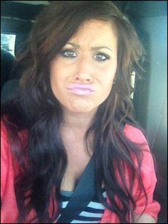 chelsea houska...not sure about the face lol but love her hair!