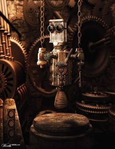 Steampunk Dork by Manosart