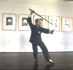 Master Chu King-Hung - sword tai chi