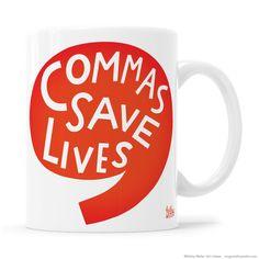 Commas Save Lives – Kathy Weller Art + Ideas