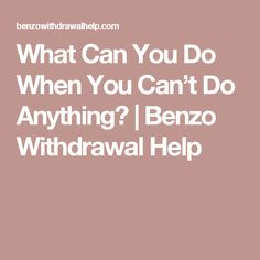 227 Best Benzo withdrawal images in 2018 | Addiction, Deal with
