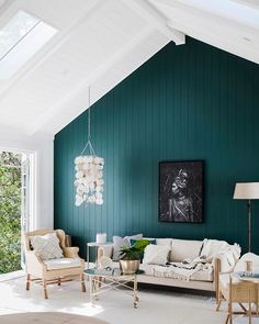 What other people are saying – Living Room – Wall Panel Teal Living Rooms, Living Room Decor Colors, Accent Walls In Living Room, Living Room Green, Bedroom Green, New Living Room, Small Living, Green Accent Walls, Teal Walls