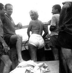 """"""" Marilyn Monroe on Long Island c. 1955 © Norman Rosten. """""""