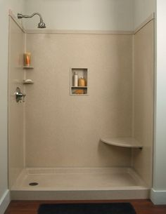 diy walk in shower | Do-It-Yourself Remodeling: Shower Kits
